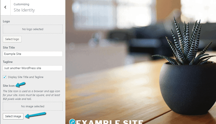 WordPress – Site Icon