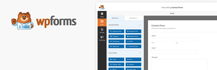 Best WordPress Plugins - WPForms