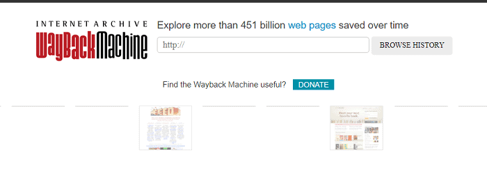 Wayback Machine - Delete WordPress