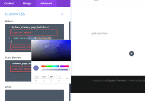 Styling Options - Elementor vs Divi