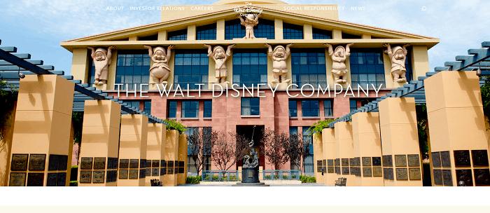 Walt Disney - Company Website