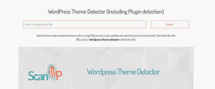 ScanWP - Best WordPress Detectors