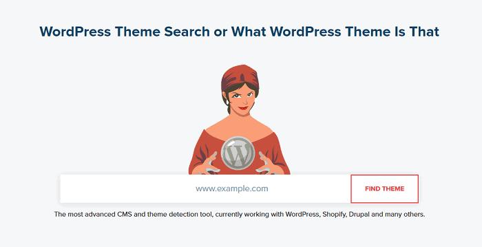 What Theme - Best WordPress Detectors