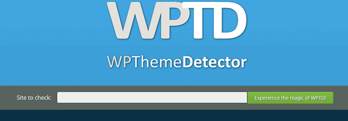 WP Theme Detector - Best WordPress Detectors