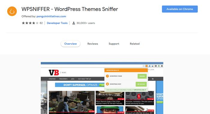 WPSNIFFER - Best WordPress Detectors