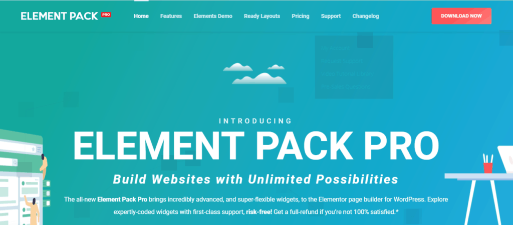 Element pack