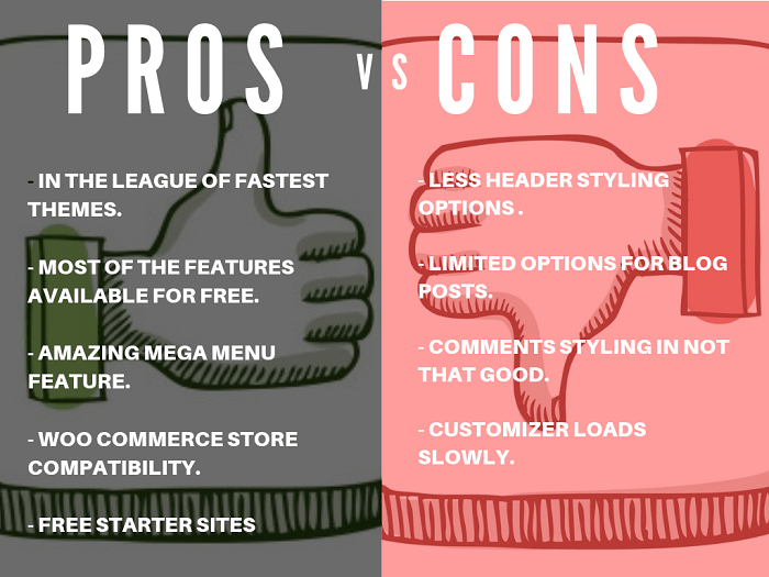 Astra Theme Pros and Cons
