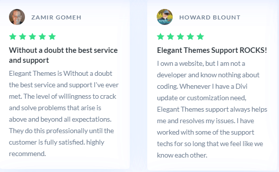 Divi Support reviews