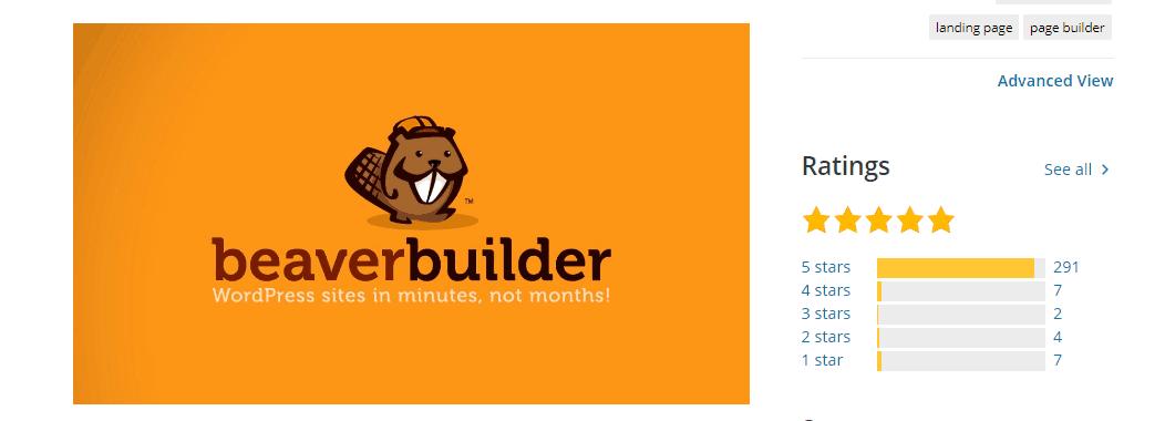 Beaver Builder Ratings
