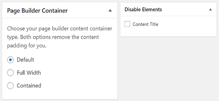 Generate Press & Page Builder Compatibilty