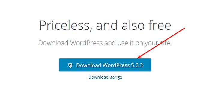 Fresh WordPress Copy