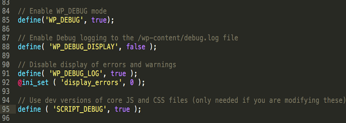 Debug Mode Via Code